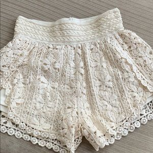 Fun lace shorts